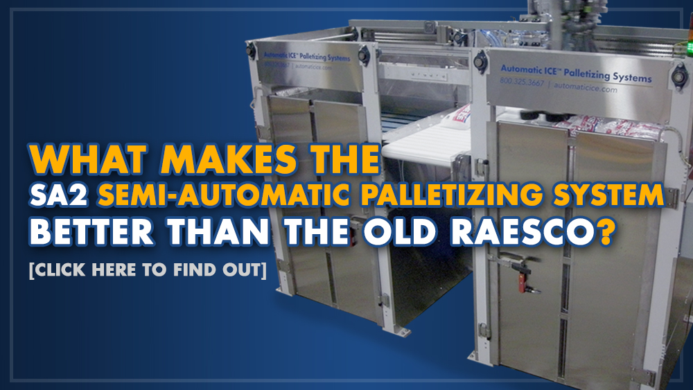 What makes the SA2 Semi-Automatic Palletizing System better than the old RAESCO?