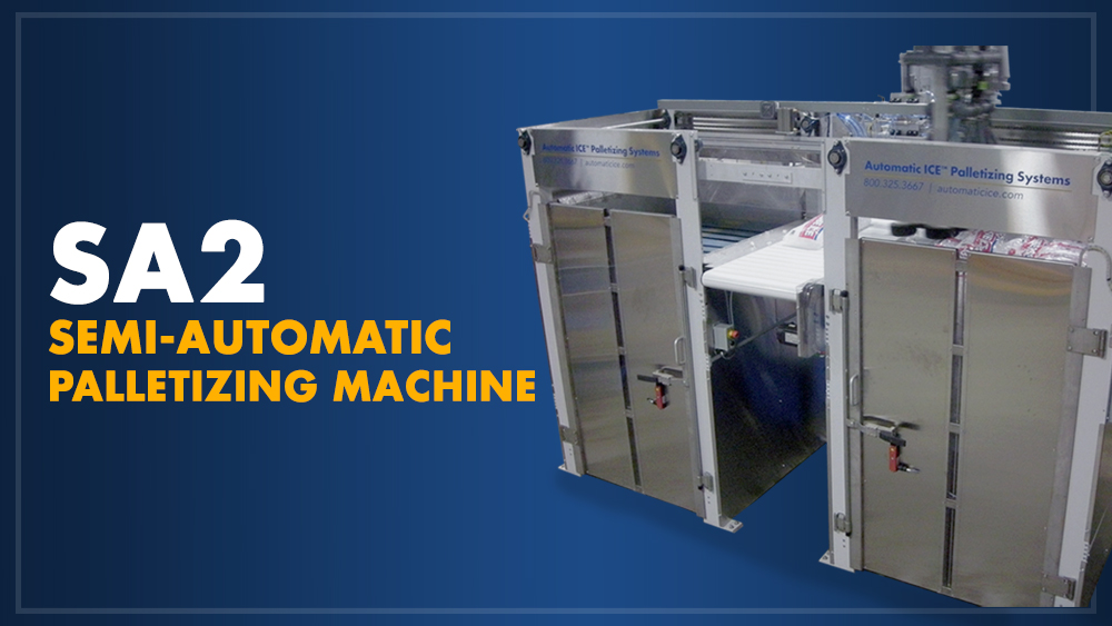 SA2 Semi-Automatic Palletizing Machine